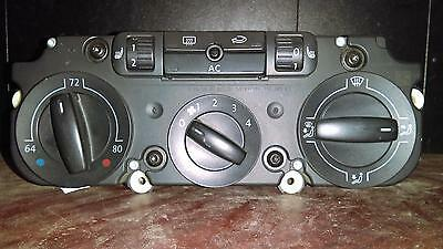 Volkswagen Rabbit Heat/AC Controller, manual temperature control, w/heated seats