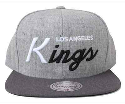 NHL Los Angeles Kings Mitchell   Ness Tri Pop Special Script SnapBack Hat 773aa5a2d98a