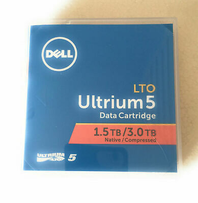 Dell LTO-5 Ultrium 1.5TB / 3TB PowerVault Tape Cartridge LTO5 Backup Tape