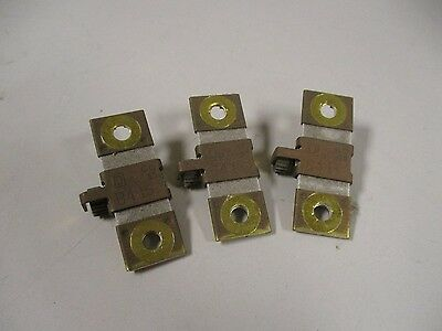 Lot Of 3 Square D B4.15 Overload Relay Thermal Units