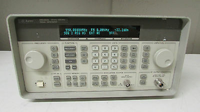 Agilent Keysight 8648A Synthesized Signal Generator, 100kHz-1GHz, opt 1E5