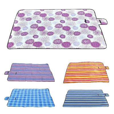 Extra Large Picnic Blanket Rug Mat Waterproof Rug Camping Beach Kids Baby SI