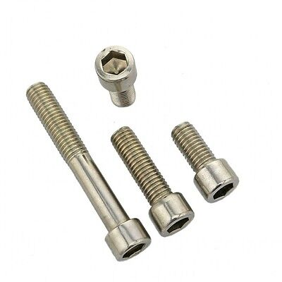 M3 M4 M5 Socket Cap Screws Hex Head Allen Bolts Din912 201 Stainless Steel