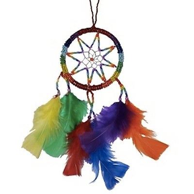 Pride Shack - Lesbian and Gay Pride Rainbow Dream Catcher - 3 1/4 Inches