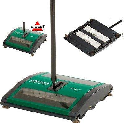 New Bissell Commercial Style Hospitality All Floor Wet & Dry Carpet Sweeper