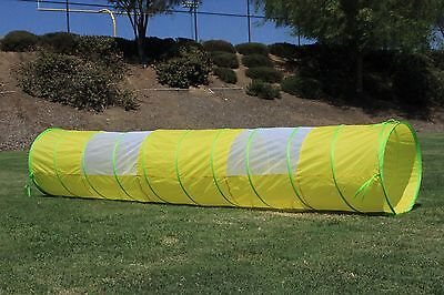 G3Elite Yellow 11' Play Tunnel With Bag, Indoor/Outdoor, For Kids - Boys/Girls