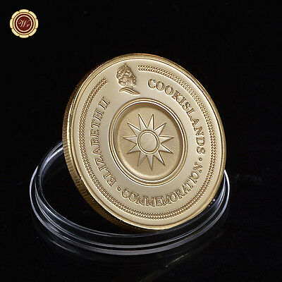 WR Elizabeth II Constellation Libra COIN 24K 999.Gold Plated COMMEMORATION Coin