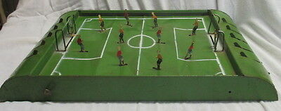 antique tin toy table football game France