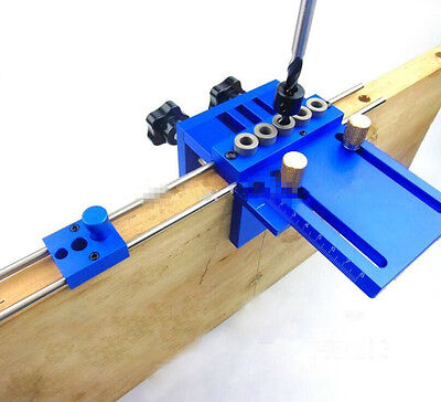 High Precision Dowelling Jig With 5 Metric Dowel Holes(6mm,8mm,10mm)