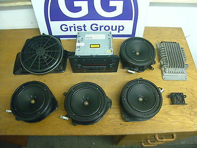Audi A4 Saloon Bose Sound System Headunit Speakers Amp Set 8E5035223C