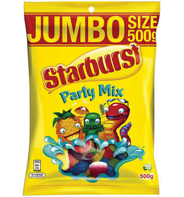 Starburst Party Mix 500g x 10