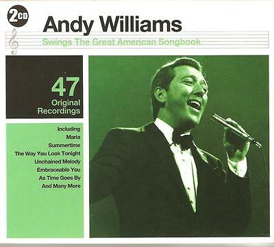 Andy Williams Swings The Great American Songbook - 2 Cd Box Set