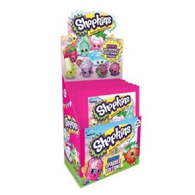 10x Topps Shopkins Sparkle Sticker Collection Sticker Pack (10 sealed packs)