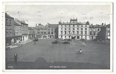 KELSO The Square, Postcard by JB White, Postally Used 1950