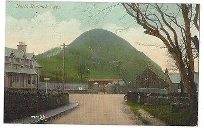 NORTH BERWICK LAW Postcard by Valentine, Postally Used 1910