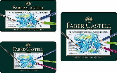 Faber Castell Albrecht Durer Artists' watercolour pencils tins of 12 24 60 120
