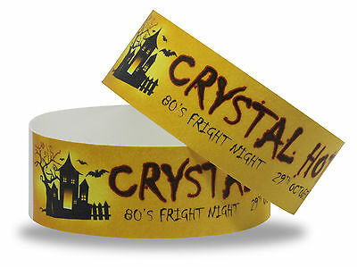 Custom Printed Halloween Wristbands: 10 Designs