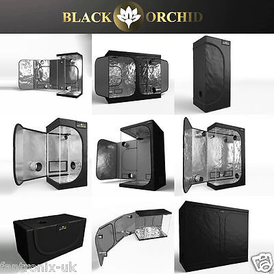 Black Orchid Hydro Box Grow Tent Room Best Hydroponic Indoor Dark Plant Bud Box