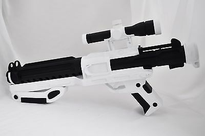 First Order F-11D blaster prop full scale 1:1 from Star Wars props / replica