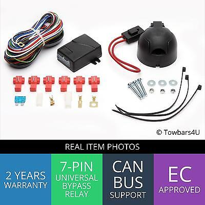New 7 Pin Bypass Relay Towbar Electrics Wiring Kit Volkswagen Vw Caddy 3 Iii 4