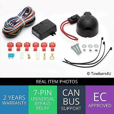 New 7 Pin Bypass Relay Towbar Electrics Wiring Kit Bmw 3 Series E46 All Models