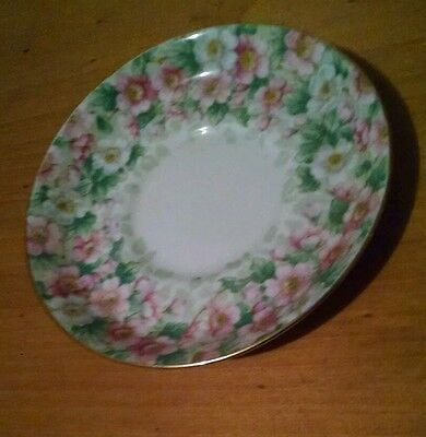 Crown Staffordshire MAYTIME Saucer 1930's England