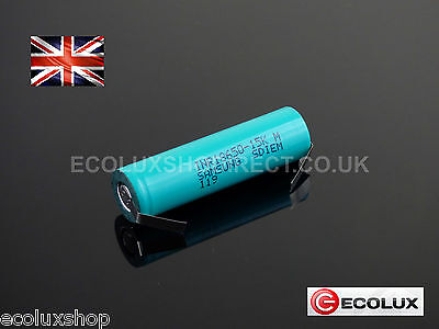 Samsung 15M 18650 1500mAh Li-Ion 25A INR Rechargeable Battery Tabs Tags Tagged