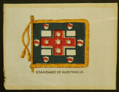 STANDARD OF AUSTRALIA Anon Silk Badge issued during WWI in 1915