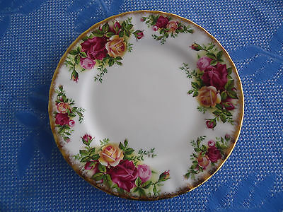 royal albert old country roses bread and & butter plate