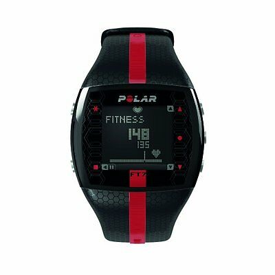 Polar FT7M Heart Rate Monitor and Sports Watch - Black Red