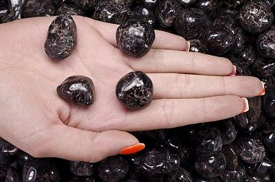 1 Pound Tumbled Garnet - 'AA' Grade - Wire Wrapping, Reiki, Crystal Healing