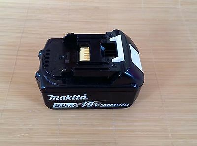 Makita 5.0A 18v Li-ion battery BL1850 for Genuine Makita Lxt drill saw drivers
