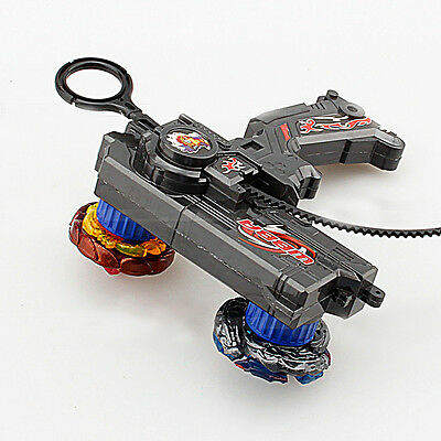 Metal Master Fusion Top Rapidity Fight Rare Dual Launcher Grip Beyblade Set Toys