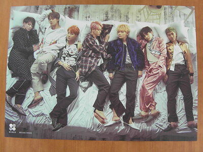 Bts (Bangtan Boys) - Wings [Official] Poster  *New* K-Pop
