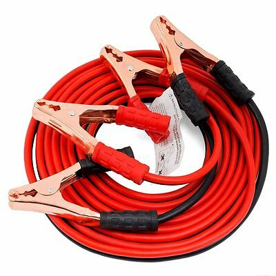 New Heavy Duty 10 FT Cable Jumping Cables Power Jumper 500 AMP
