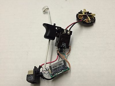 New Milwaukee Switch/Brush Card Assembly 23-66-1238