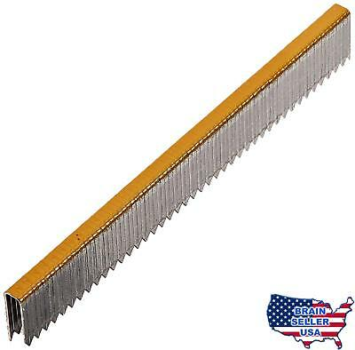 Duo-Fast 5418D 9/16-Inch by 20 Gauge 3/16 Crown Gold Staple (5,000 per Box), New