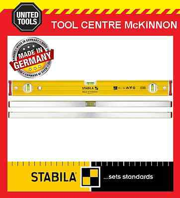 STABILA 600mm / 2ft 96-2/60 BOX FRAME RIBBED HEAVY DUTY 3-VIAL SPIRIT LEVEL