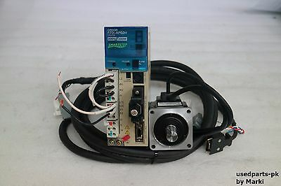 Omron R7D-Ap02H & R7M-A20030-S1 Smartstep Servo Driver & Motor & Cable / Video