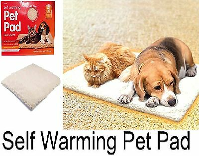 Amazing Self Heating Pet Dog Puppy Cat Thermal Pad Warm Mat Home Washable Rug
