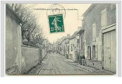 CARRIERES-SOUS-POISSY Grande Rue