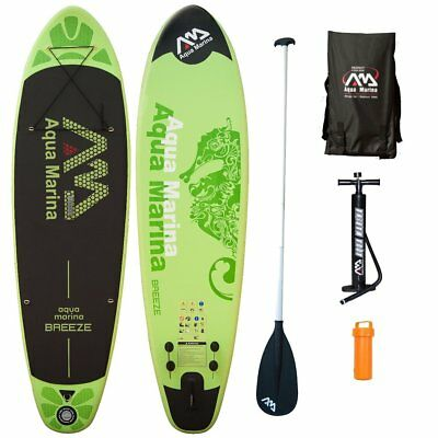 BREEZE + ALU Paddle, SET-SONDERPREIS, SUP Paddle-Board, Aqua Marina