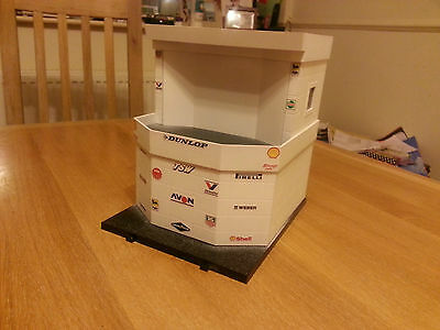 Scalextric Sport C8319 Control Tower Repainted & Decaled Custom (one off)