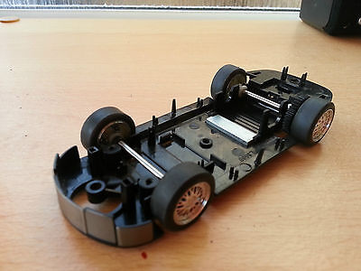 Scalextric Sports Digital L8689 Porsche 911 GT3R rolling Chassis.Unpackaged