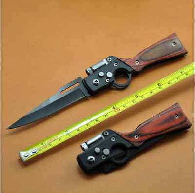 HQ Cute Pocket Knife Mini Tactical Outdoor Survival Saber with LED light Gift