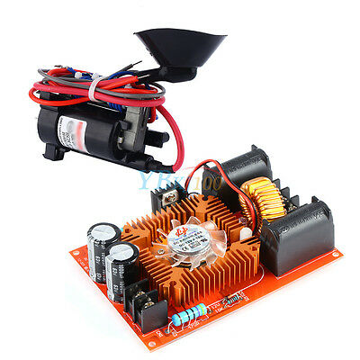 DC 15A-20A ZVS Tesla Coil High Voltage Generator Driver Board + Ignition Coil