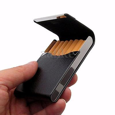 New Pocket PU Leather Tobacco Cigarette Holder Cigar Storage Case Box Container