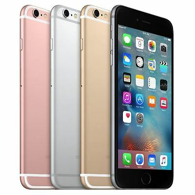 """Apple iPhone 6S 64GB 4G LTE 100% """"FACTORY UNLOCKED"""" Smartphone Perfect Condition"""