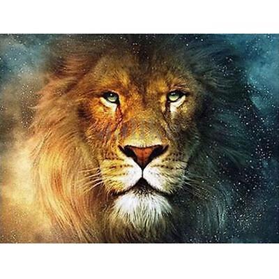 DIY 5D Diamond Painting Lion Animal Embroidery Cross Stitch Home Wall Decor New