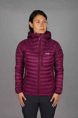 Rab Women's Microlight Alpine Down Jacket (Berry)